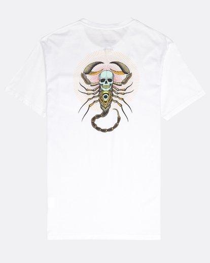 1 Scorpion Tee Ss Weiss N1SS41BIP9 Billabong