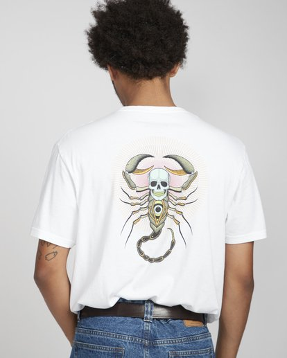 5 Scorpion Tee Ss Weiss N1SS41BIP9 Billabong