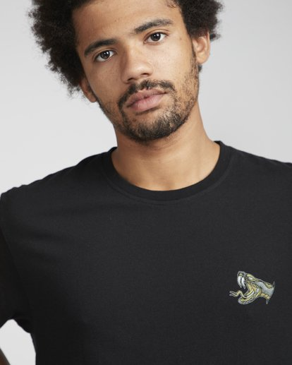 2 Hourglass T-Shirt Schwarz N1SS42BIP9 Billabong
