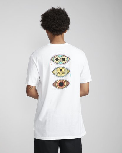 3 Ocular T-Shirt Blanco N1SS45BIP9 Billabong
