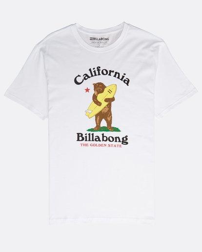 0 Golden State T-Shirt Weiss N1SS50BIP9 Billabong