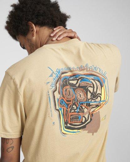 3 83 T-Shirt Beige N1SS51BIP9 Billabong