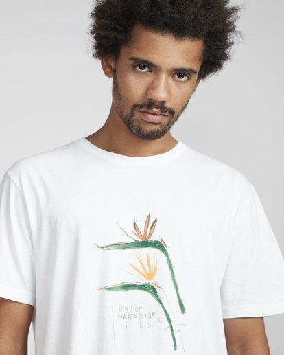 2 Birdofparadise T-Shirt White N1SS54BIP9 Billabong