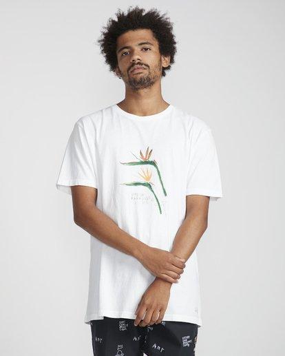 3 Birdofparadise T-Shirt White N1SS54BIP9 Billabong