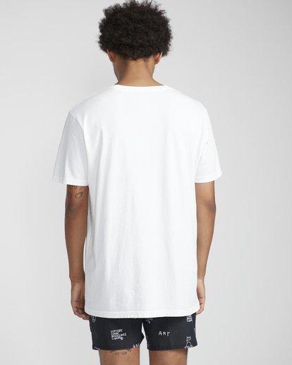 4 Birdofparadise T-Shirt White N1SS54BIP9 Billabong