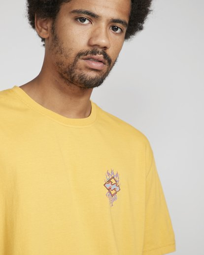 4 Archfiret-Shirt Yellow N1SS61BIP9 Billabong