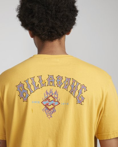 2 Archfiret-Shirt Yellow N1SS61BIP9 Billabong