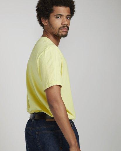 1 Siren T-Shirt Yellow N1SS62BIP9 Billabong