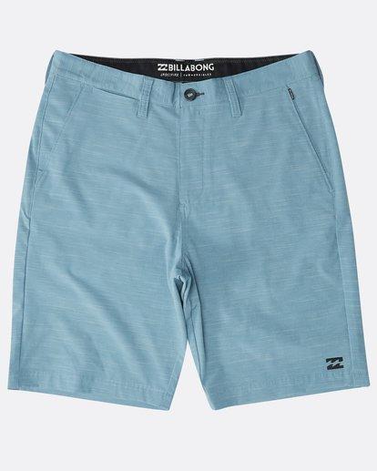 0 Crossfire X Slub Submersibles Shorts Blau N1WK02BIP9 Billabong