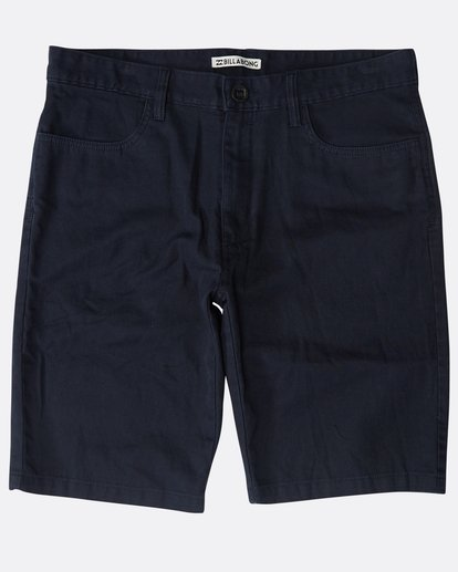0 All Day Chino Shorts Blau N1WK12BIP9 Billabong