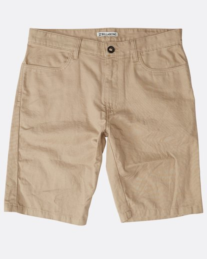 0 All Day Chino Shorts Grün N1WK12BIP9 Billabong