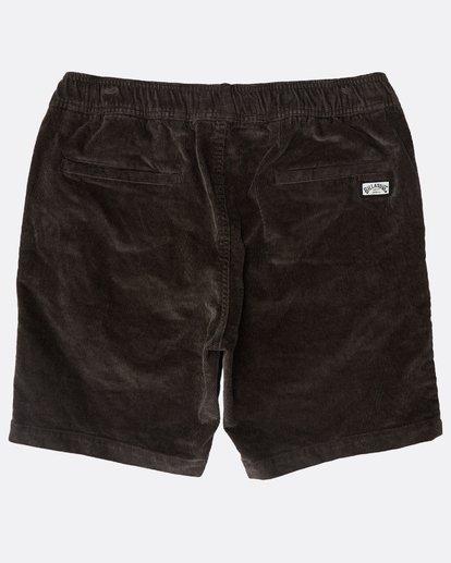 1 Larry Layback Corduroy Shorts Schwarz N1WK18BIP9 Billabong