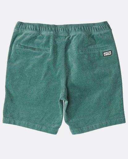 1 Larry Layback Corduroy Shorts Grün N1WK18BIP9 Billabong
