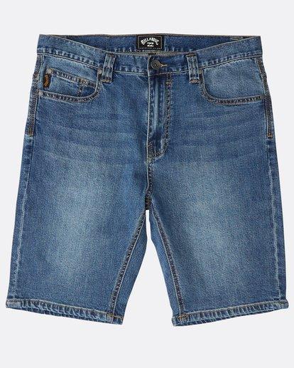 0 Outsider Denim Shorts Azul N1WK23BIP9 Billabong