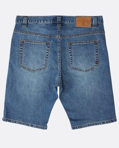 1 Outsider Denim Shorts Azul N1WK23BIP9 Billabong