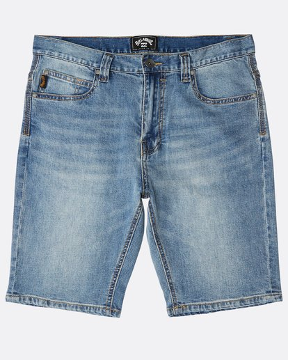 0 Outsider Denim Shorts Azul N1WK23BIP9 Billabong