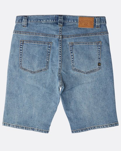 1 Outsider Denim Shorts Azul N1WK23BIP9 Billabong