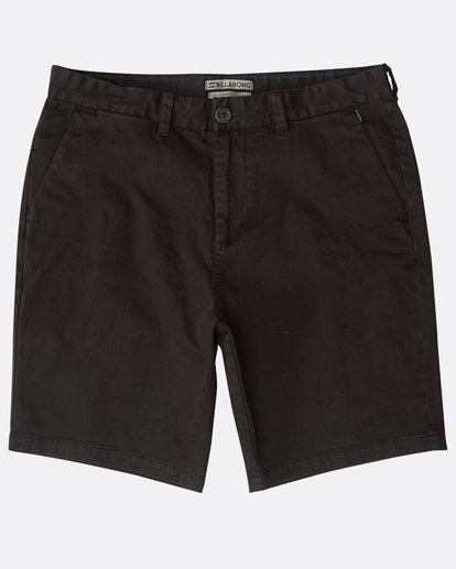 0 New Order Wave Wash Shorts Schwarz N1WK26BIP9 Billabong