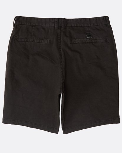 1 New Order Wave Wash Shorts Schwarz N1WK26BIP9 Billabong