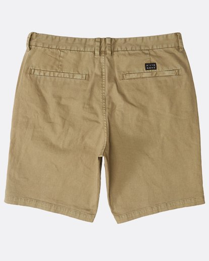 1 New Order Wave Wash Shorts Grau N1WK26BIP9 Billabong
