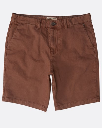 0 New Order Wave Wash Shorts Marron N1WK26BIP9 Billabong