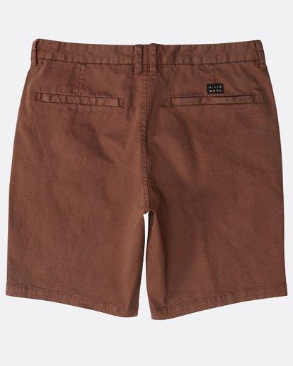 1 New Order Wave Wash Shorts Marron N1WK26BIP9 Billabong