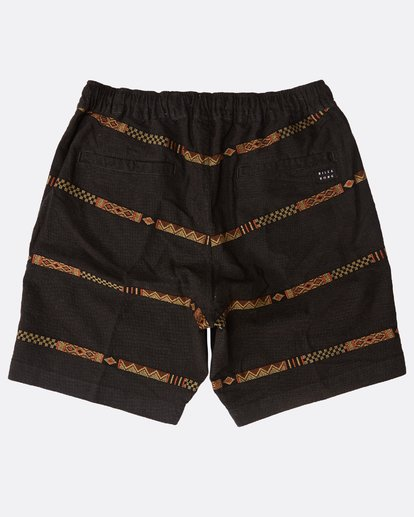 1 Larry Layback Jacquard Shorts Schwarz N1WK27BIP9 Billabong