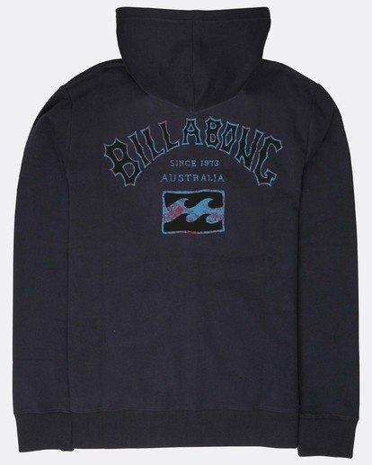 1 Archfire Zip Hoodie Schwarz N1ZH04BIP9 Billabong