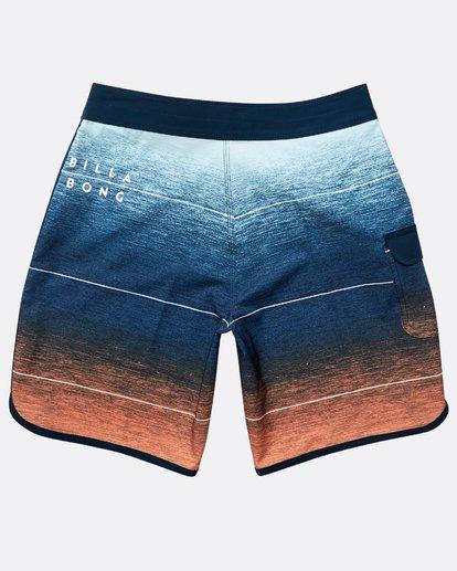 1 Boys' 73 Stripe Pro Boardshorts Orange N2BS02BIP9 Billabong