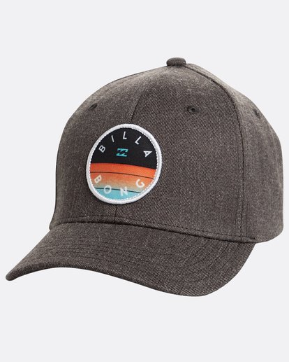 0 Boys' Theme Snapback Hat Gris N2CM02BIP9 Billabong