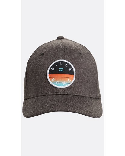 1 Boys' Theme Snapback Hat Gris N2CM02BIP9 Billabong