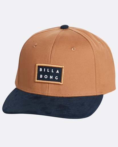 0 Boys' Alpha Snapback Hat Marron N2CM03BIP9 Billabong
