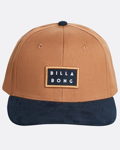 1 Boys' Alpha Snapback Hat Marron N2CM03BIP9 Billabong