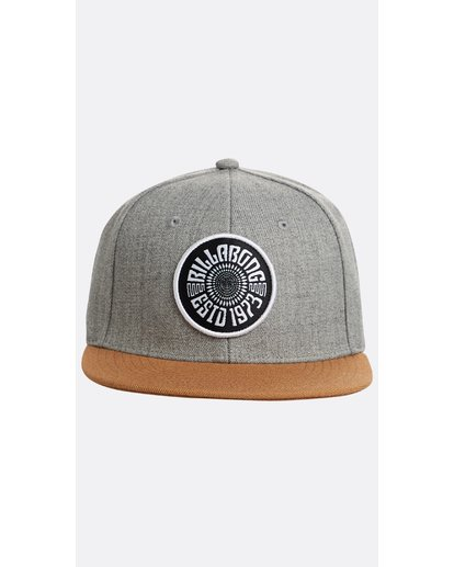 1 Boys' Spirit Walker Snapback Hat Gris N2CM04BIP9 Billabong