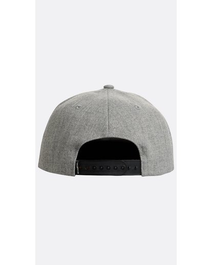 2 Boys' Spirit Walker Snapback Hat Gris N2CM04BIP9 Billabong