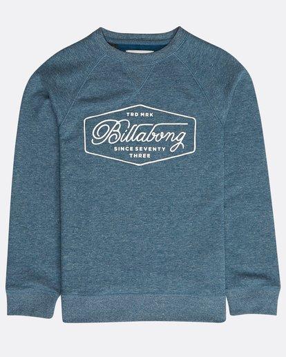 0 Boys' Trademark Sweatshirt Bleu N2CR01BIP9 Billabong