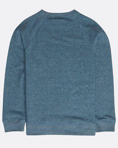 1 Boys' Trademark Sweatshirt Bleu N2CR01BIP9 Billabong