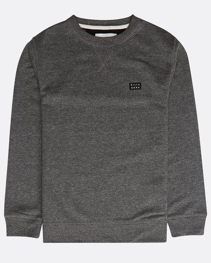 0 Boys' All Day Sweatshirt Noir N2FL01BIP9 Billabong