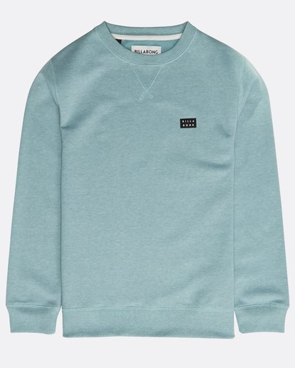 0 Boys' All Day Sweatshirt Vert N2FL01BIP9 Billabong