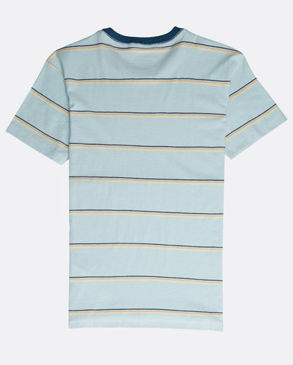 1 Boys' Die Cut Stripe T-Shirt Azul N2JE04BIP9 Billabong