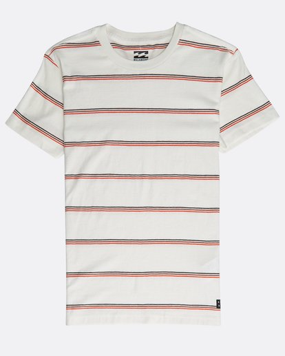 0 Boys' Die Cut Stripe T-Shirt Beige N2JE04BIP9 Billabong
