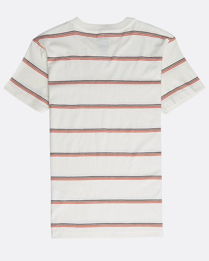1 Boys' Die Cut Stripe T-Shirt Beige N2JE04BIP9 Billabong