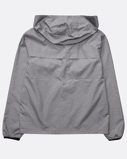 1 Boys' Transport Windbreaker Sweatshirt Gris N2JK01BIP9 Billabong