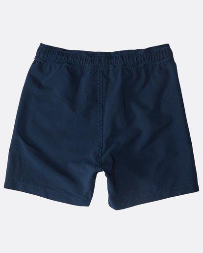 1 Boys' All Day Layback Boardshorts Bleu N2LB01BIP9 Billabong
