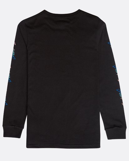 1 Boys' Eighty Six Long Sleeve T-Shirt Schwarz N2LS01BIP9 Billabong