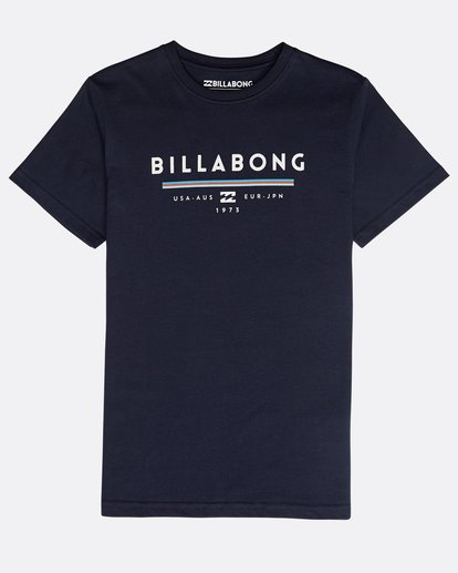 0 Boys' Unity T-Shirt Bleu N2SS01BIP9 Billabong