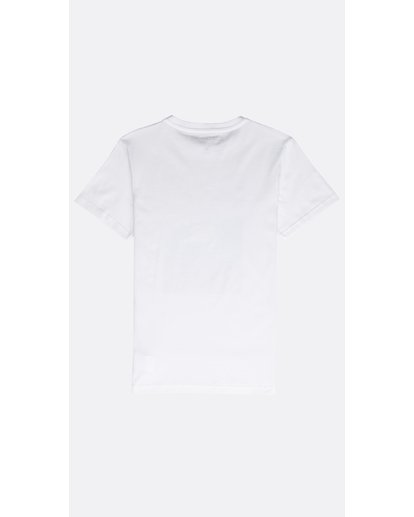 1 SECTION TEE SS BOY Blanco N2SS03BIP9 Billabong