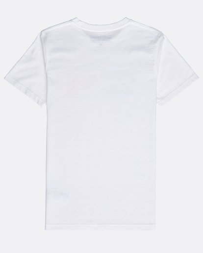1 Boys' Inversed T-Shirt Blanco N2SS04BIP9 Billabong