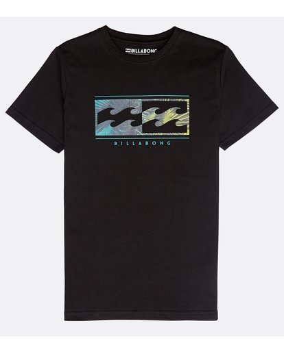 0 Boys' Inversed T-Shirt Schwarz N2SS04BIP9 Billabong