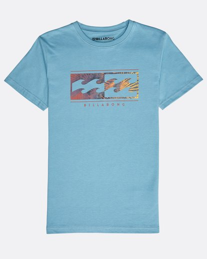 0 Boys' Inversed T-Shirt Blau N2SS04BIP9 Billabong